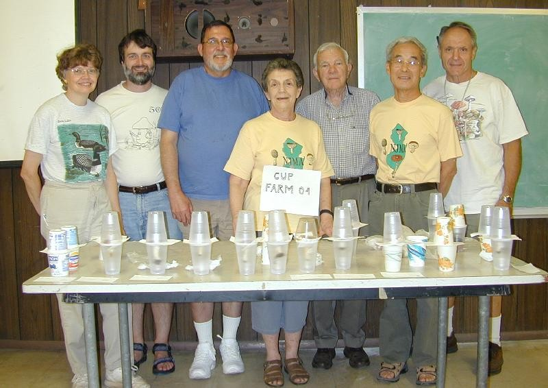 Members of the New Jersey Mycological Association at the Brandwein Institute