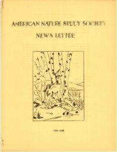 ANSS Newsletter Fall 1946
