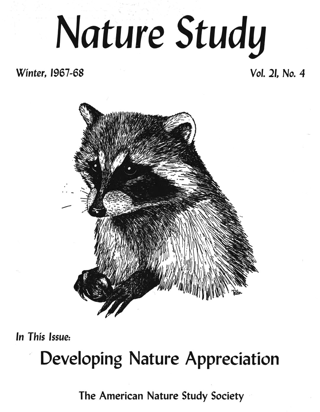 Nature Study Journal Winter 1967-68